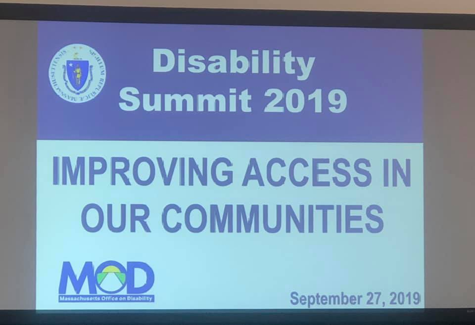 The Massachusetts Office on Disability (MOD)'s Conference on Accessibility